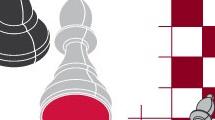 Fondo con piezas de ajedrez