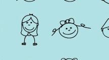 Set con dibujos infantiles