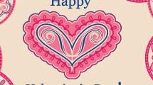 Tarjeta para Valentines