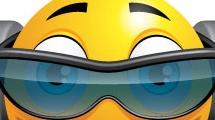 Carita con anteojos