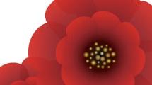 Impactantes flores rojas
