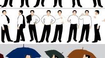 Set: hombres de negocios