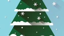 tarjeta de navidad d