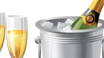 Champagne y festejos