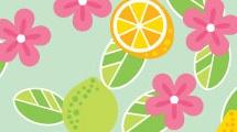 Cítricos y flores