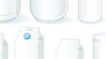 Envases de productos lácteos