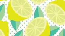 Fondo con limones