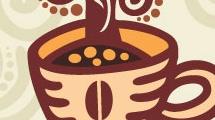 Ilustración: taza de café