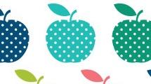 Manzanas con lunares