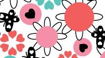 Mariposas y flores