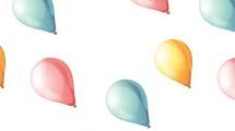 Patrón con globos