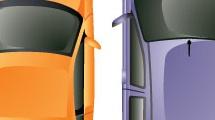 Automóviles: vista superior
