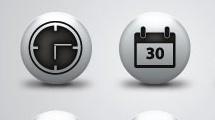 Botones esféricos
