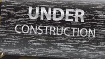 Cartel: en construcción