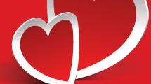Corazones para Valentines
