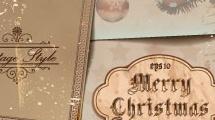 Fondo Navidad retro