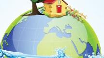 Fondo sobre ecología