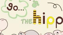 Ilustración con hipopótamos