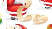 Papá Noel set