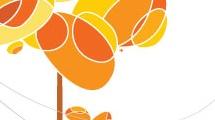 Árbol abstracto de otoño
