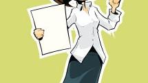 Mujer oficinista