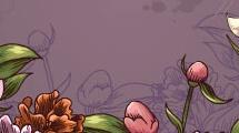 Borde floral