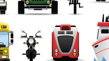 Diferentes transportes
