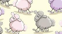 Fondo con ovejitas