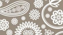 Fondo decorativo floral