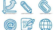 Iconos en lápiz