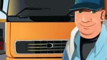 Profesiones: camionero