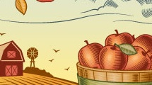 Recolección de manzanas