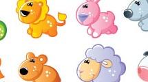 Set: pequeños animales