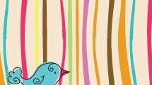 Tarjeta con pájaro