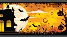 Tres banners de halloween