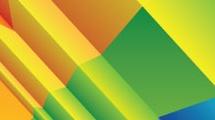 Arco iris de papel