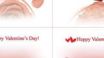 Cuatro fondos Valentines
