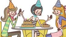Cumpleaños con amigas