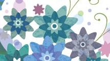 Flores y zarcillos