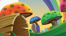 Paisaje con hongos