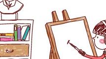 Pequeña artista