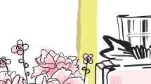 Rosas y perfume