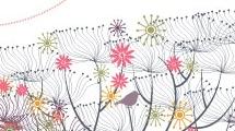 Árboles y pájaros