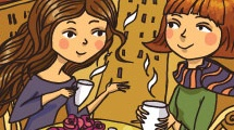 Compartiendo un té