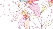 Floral con libélula