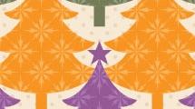 Fondo navideño multicolor