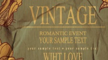 Fondo vintage romántico