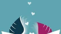 Ilustración sobre el amor