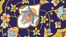 Patrón clásico floral