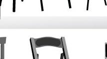 Set de sillas